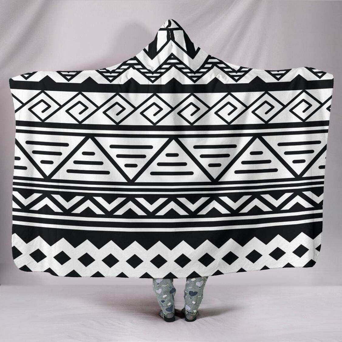 Personalized Customise Latest item Hoodie San Diego Mall Blanket Pattern Tribal Blank White