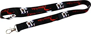 Why so Serious Lanyard/keychain with clip for keys or id badges. Great for all Joker, Batman and The Dark Knight Movie Fans
