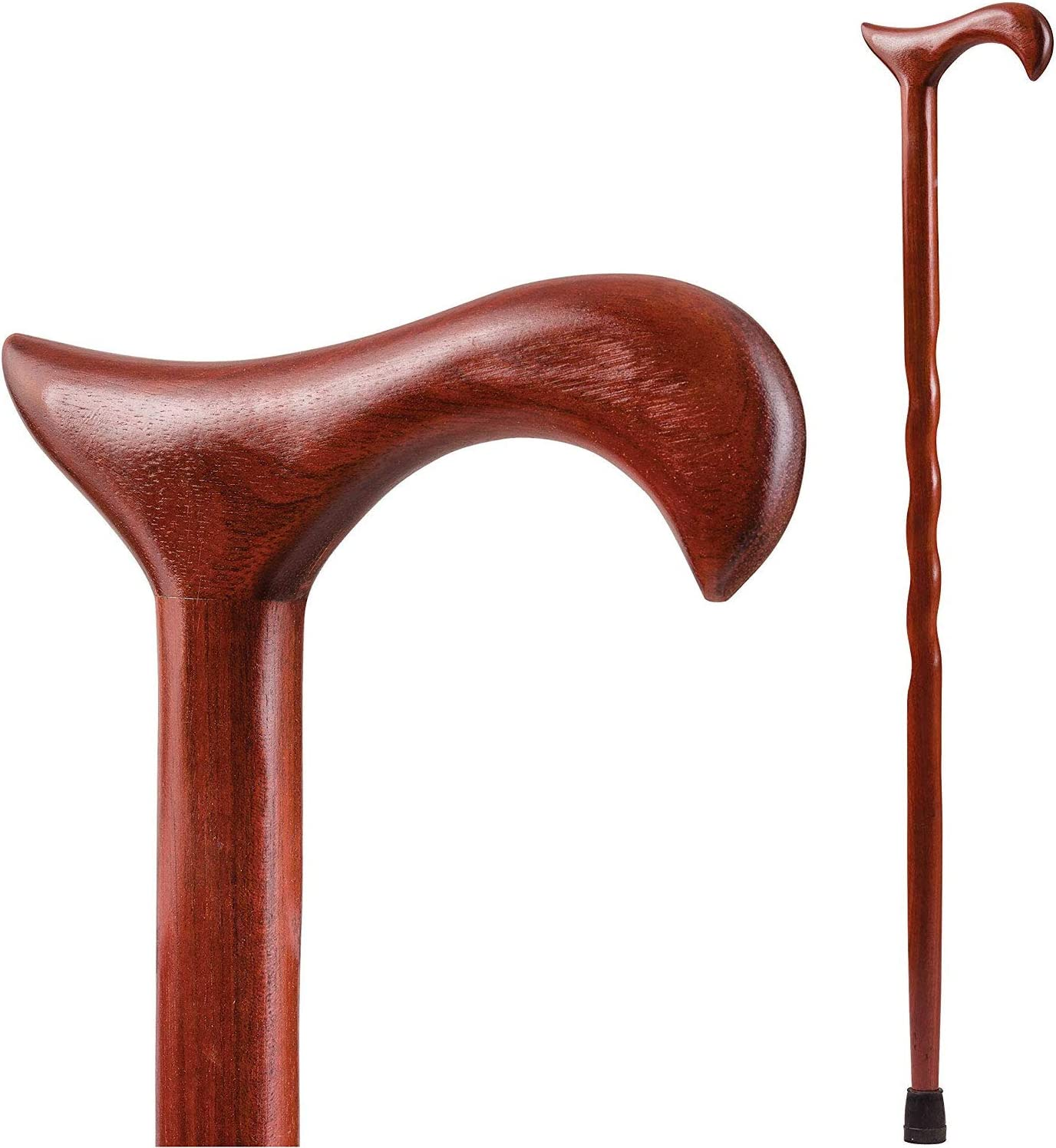 Handcrafted Wood Walking Classic Cane - Made Direct store Brazos by the in Twis USA