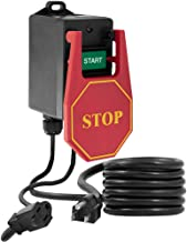 Fulton 110V Single Phase On/Off Switch with Large Stop Sign Paddle for Easy Visibility..