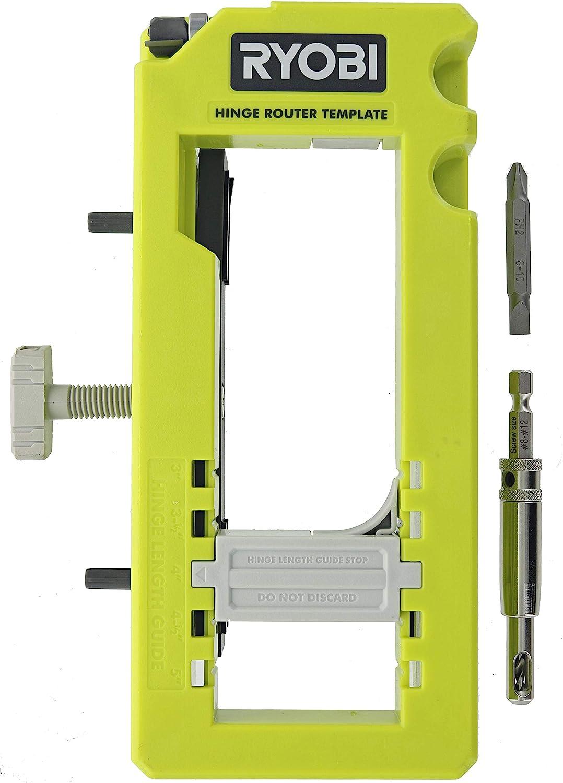 Ryobi A99HT3 Kit de instalación de bisagra de puerta/plantilla de embutido
