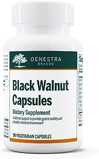 Genestra Brands - Black Walnut Capsules - Herbal Formula to Support Digestive Health - 90 Capsules