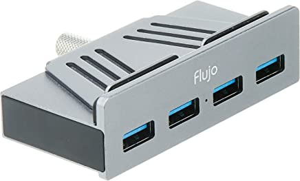 Flujo AH-52 Clamp Hub for IMAC with 4 x USB 3.0, Grey