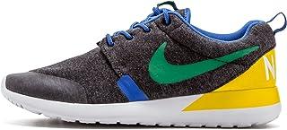 Nike–Rosherun QS da Junior (GS)–Black Heather PN Verde Vero Giallo