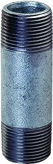 Everflow Supplies NPGL1555 5-1/2 cala długa ocynkowana stalowa złączka do rur o średnicy nominalnej 1-1/2 cala