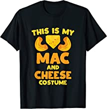 Mac and Cheese Funny Food Halloween Party Costume  T-Shirt