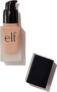 e.l.f. Flawless Finish Foundation, Semi-Matte, Long-Lasting Liquid Makeup, SPF 15, Honey, 0.68 Fl Oz