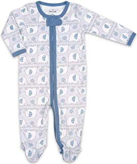 The Peanutshell Soft Footie Pajamas Baby Sleeper and Bodysuit for Baby Boys and Girls - Newborn to 12 Months