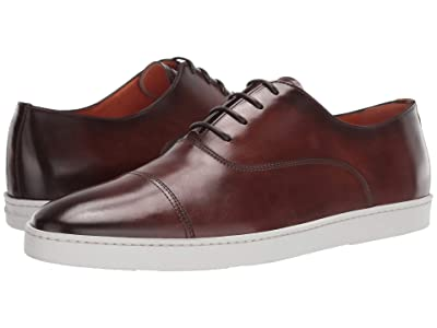Santoni Durbin Lace-Up Sneaker (Brown) Men