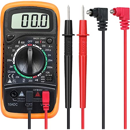 1 Stück Digital Mini Messgerät Dt 830b Digital Multimeter Voltmeter Ac Dc Multi Tester Werkzeug Gewerbe Industrie Wissenschaft