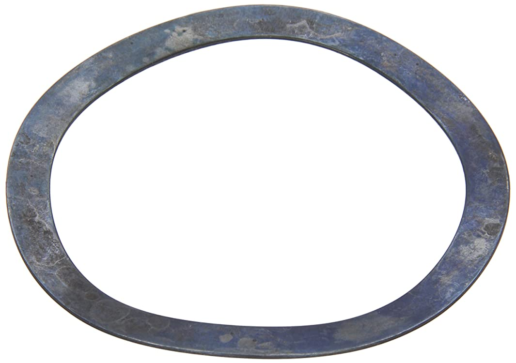 Compression Type Wave Washer, Carbon Steel, 4 Waves, Inch, 3.543