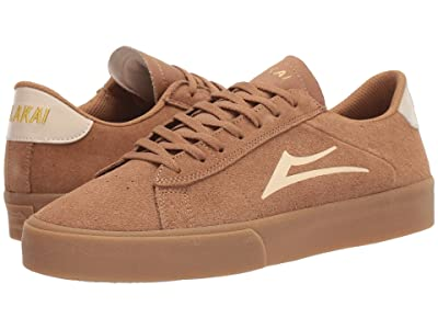 Lakai Newport (Tan/Gum Suede) Men