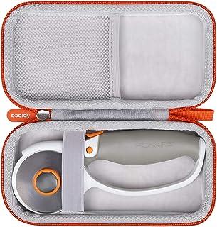 Aproca Hard Travel Storage Carrying Case for Fiskars 01-005874 Titanium Softgrip Comfort Loop Handle Rotary Cutter