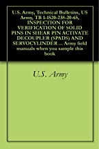U.S. Army, Technical Bulletins, US Army, TB 1-1520-238-20-65, INSPECTION FOR VERIFICATION OF SOLID PINS IN SHEAR PIN ACTIVATE DECOUPLER (SPADS) AND SERVOCYLINDER ... field manuals when you sample this book