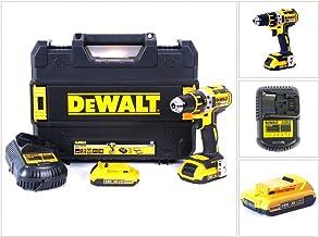 Dewalt DCD790D2-QW Taladro atornillador, 54 W, 18 V, Negro, Amarillo