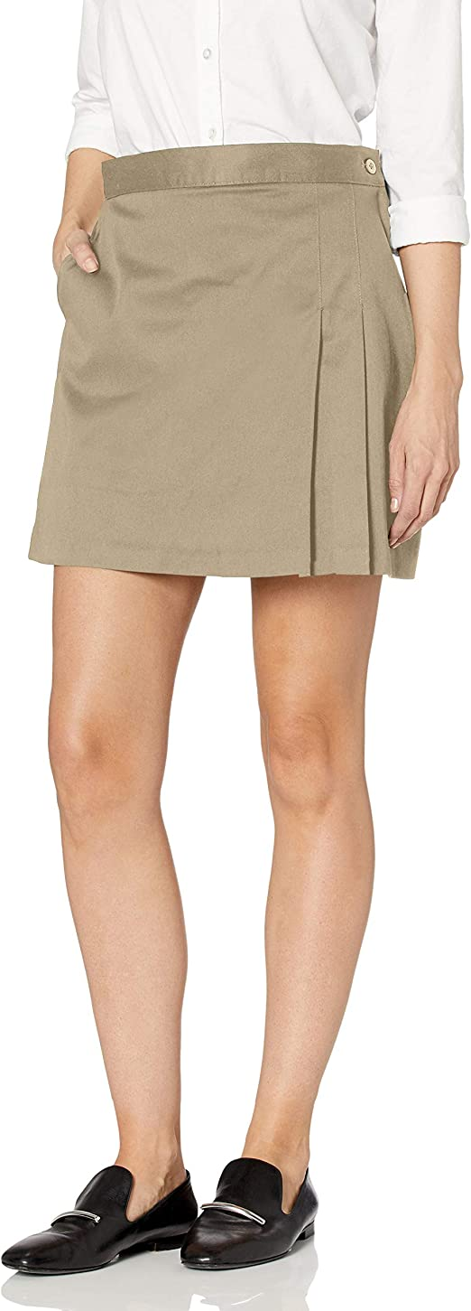 Classroom Uniforms Girls Stretch Double-Pleated Scooter