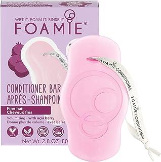 Balsamo solido Foamie con bacche di acai per capelli fini e mancanza di volume 100% vegano e senza plastica per capelli vo...