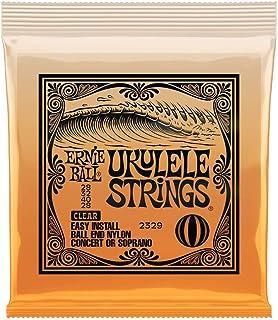 Ernie Ball P02329 Concert/Soprano Nylon Ball End Ukulele Strings Clear