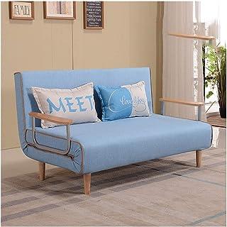 HLZY Divano Letto Sleeper Convertible Lounge Couch futo Confortevole Divano Letto Pieghevole, Divano reclinabile in Morbid...