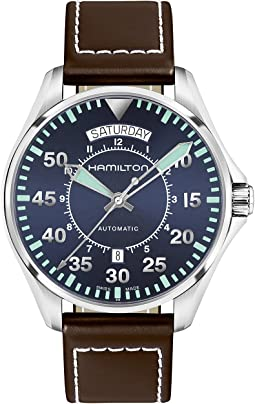 Hamilton - Khaki Pilot Day Date - H64615545