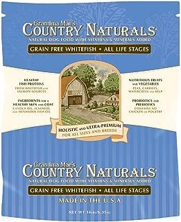 Grandma Mae'S 79700158 14 Lb Country Naturals Grain Free Fish Dog Food, One Size