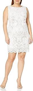 فستان Jessica Howard للنساء مقاس كبير مقطوع بالليزر