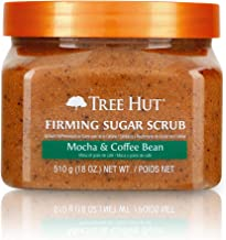 Tree Hut Sugar Scrub Mocha & Coffee Bean, 18oz, Ultra Hydrating and Exfoliating Scrub..
