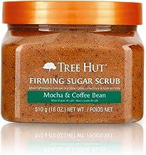 Tree Hut Sugar Scrub Mocha & Coffee Bean, 18oz, Ultra Hydrating and Exfoliating Scrub..