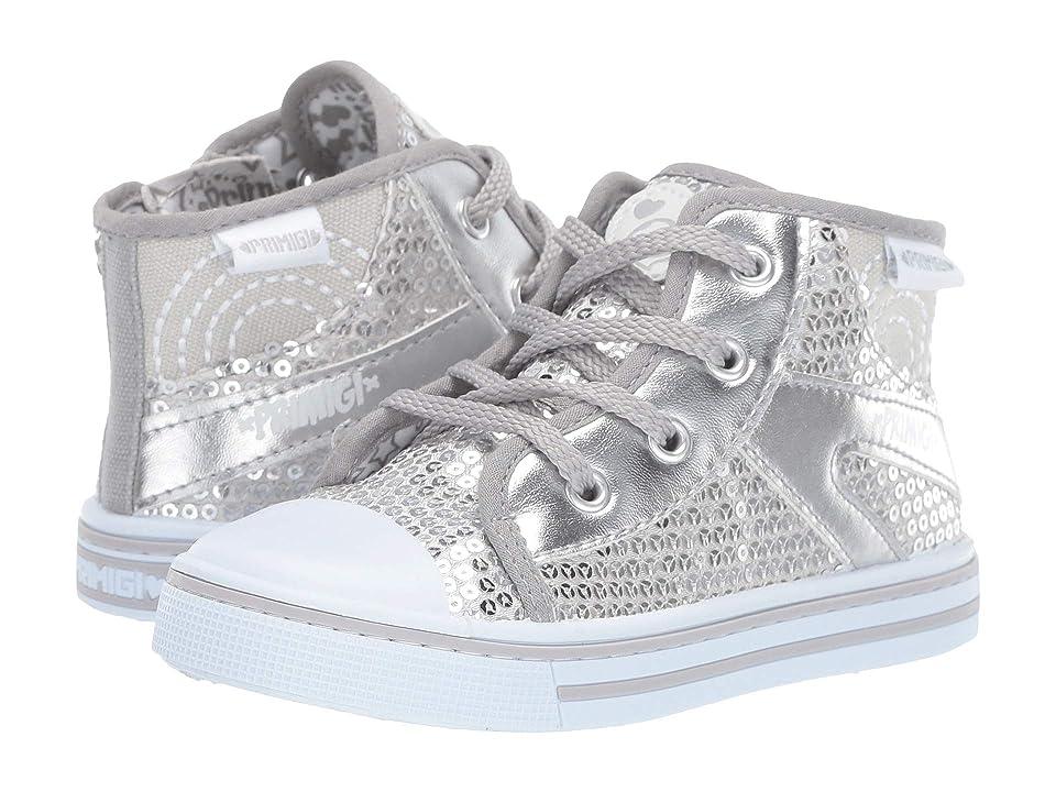 Primigi Kids PBU 34455 (Toddler) (Silver) Girl