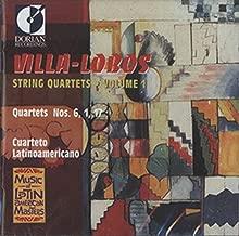 Villa-Lobos, H.: String Quartets, Vol. 1 - Nos. 1, 6, 17