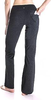 (Petite-70cm inseam/M-Waist(70cm - 80cm ), YCW0602-charcoal) - Yogipace 70cm /80cm /80cm /90cm Inseam Petite/Regular/Tall ...