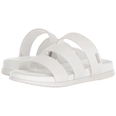 Calvin Klein Dalana Slide Sandal (Platinum White) Women