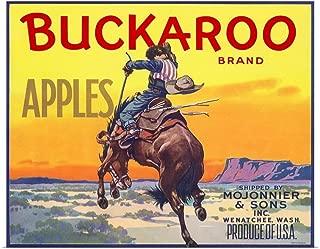 GREATBIGCANVAS Poster Print Bucking Bronco by 24