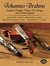 Complete Chamber Music for Strings and Clarinet Quintet (Dover Chamber Music Scores)