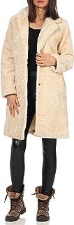 Malito Mujer Invierno Abrigo Peluche Suave Sherpa 1776