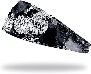 JUNK Brands Vanitas Noire Big Bang Lite Headband,  Black/White,  One Size