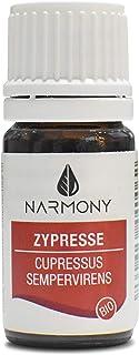 Ätherisches Öl Bio Zypresse aus Spanien   100% naturreines Zypressenöl   Kosmetikum für die Aromapflege und DIY Naturkosmetik   Duftöl für Raumbeduftung und Aroma Diffuser Zypresse bio, 10ml