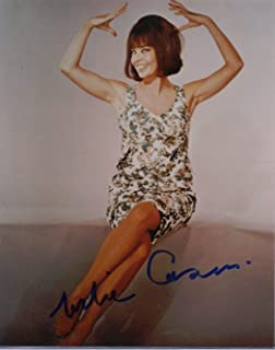 Leslie Caron Signed Gigi An American In Paris Chocolat Father Goose 8x10 B