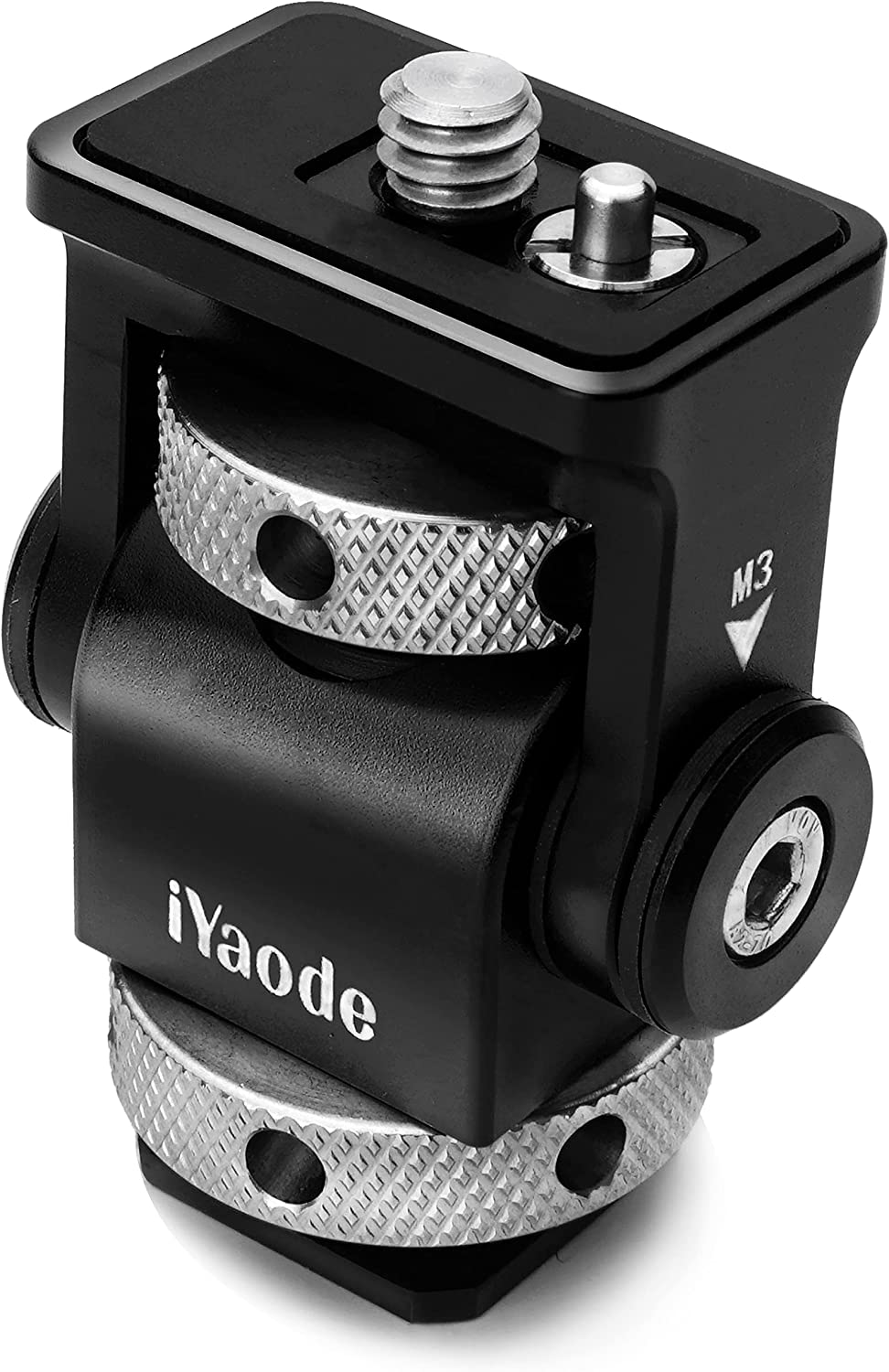 iYaode Camera Monitor Mount with Cold a 360° Shoe Base Selling rankings Swivel New item