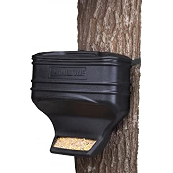 Moultrie Feed Station | Gravity Feeder | UV-Resistant Plastic | 40 lb. Capacity | Strap Included