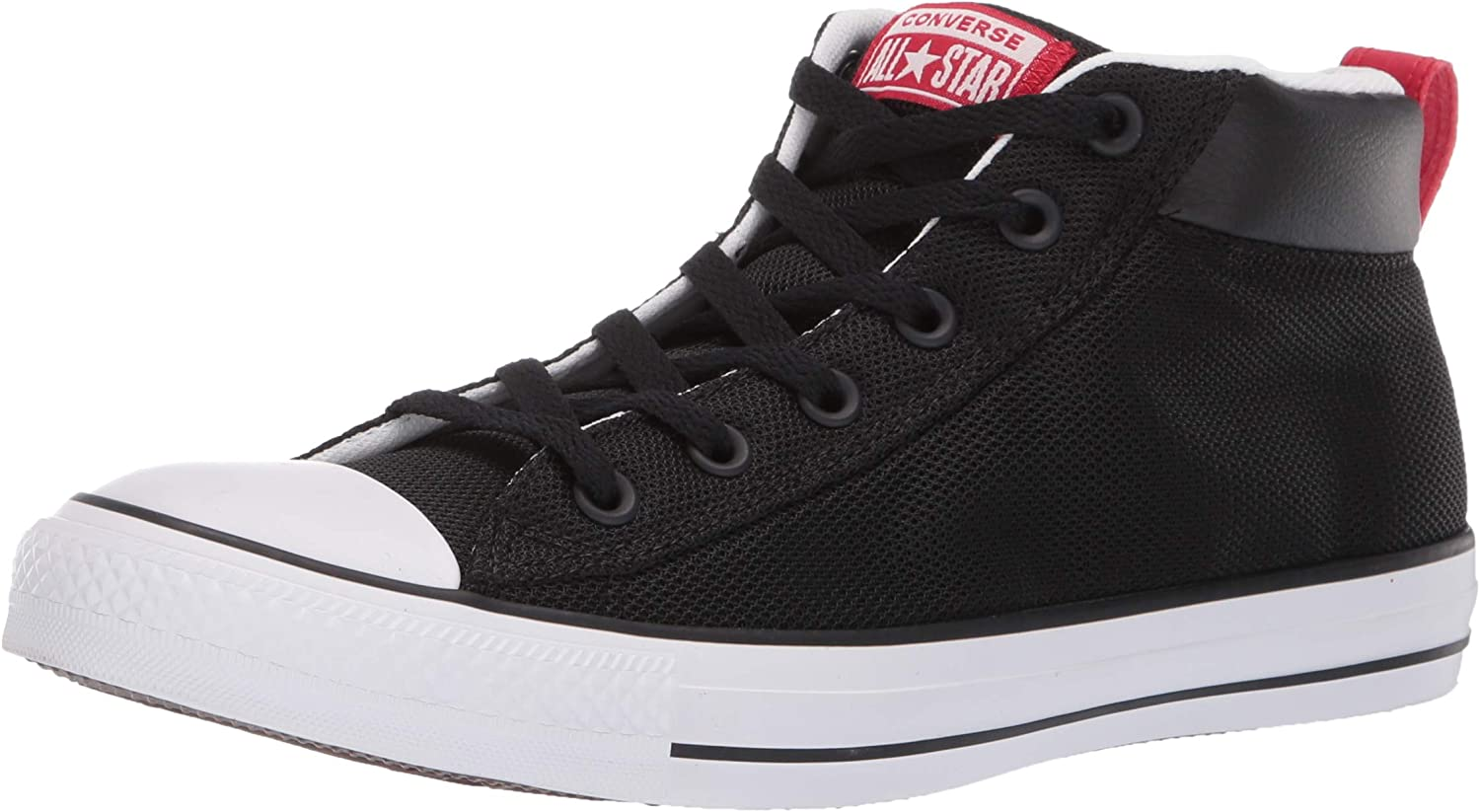 Converse Mens Unisex Chuck Taylor All Star Street Leather Mid Top Sneaker Sneaker