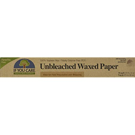 If You Care, Paper Waxed Unbleached 75 Square Feet