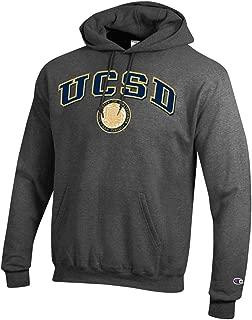 Champion U.C. San Diego Tritons Hoodie Sweatshirt-Charcoal