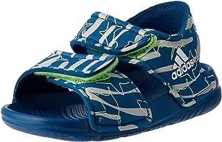 adidas Baby Boys AltaSwim Slides, Legend Marine/Footwear White/Hi-Res Yellow