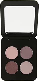 Youngblood Pressed Mineral Eyeshadow Quad, Vintage, 4 g