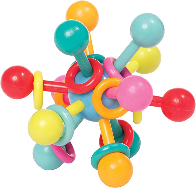 Manhattan Toy Atom Rattle Teether Grasping Activity Baby Toy