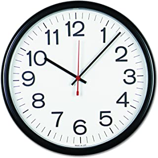 Universal 11381 Indoor/Outdoor Clock, 13 1/2