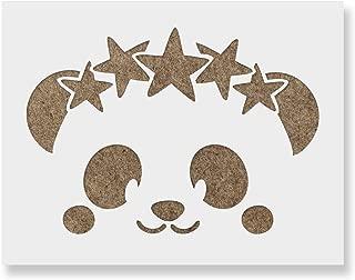 Best panda face stencil Reviews