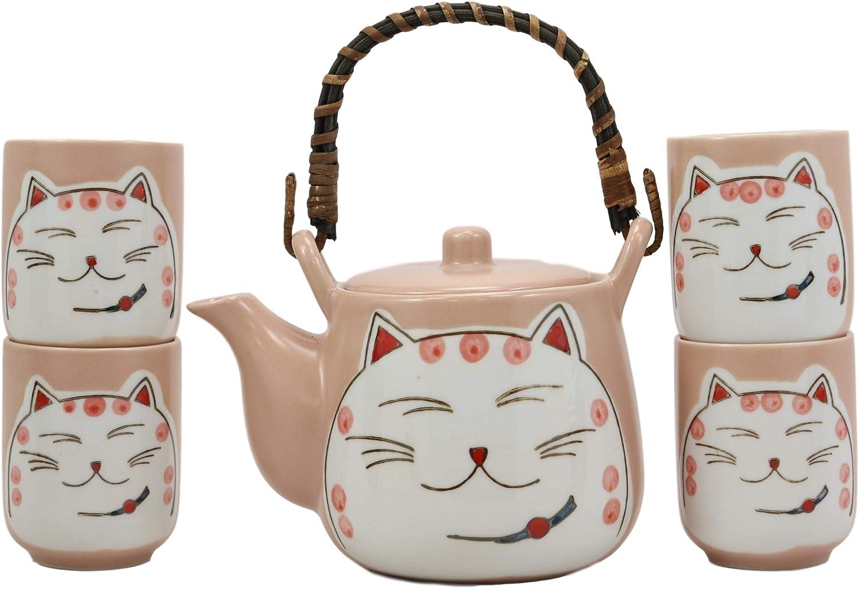 Ebros Charlotte Mall Gift Japanese Design Maneki Cat store Lucky Beckoning Neko Matte