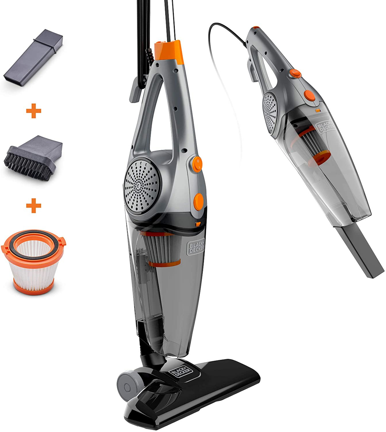 BLACK+DECKER 3-In-1 Upright Stick Cleaner New color wit Vacuum Handheld Detroit Mall